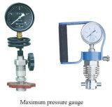 Calibre de pressão Vibration-Proof antivibração com petróleo de silicone