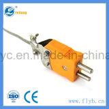 Needle-Shaped тип гибкий датчик температуры e с штепсельной вилкой