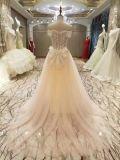 Nuova unione 2017 di arrivo che borda i vestiti da cerimonia nuziale del corsetto
