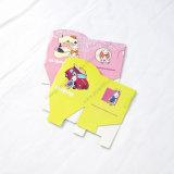 Caixa de presente de papel da impressão DIY do cartão