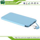 Cargador portable delgado 5000mAh de la batería de la potencia