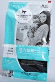 지퍼 부대 알루미늄 호일 포장 애완 동물 먹이 부대를 위로 서 있으십시오