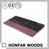 Descanso de pulso personalizado do teclado da folhosa para a fonte de escritório