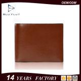 مصنع إمداد تموين عالة علامة تجاريّة أصليّة جلد بقر جلد رجال محفظة