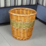 Cesta hecha a mano agradable de la comida campestre del sauce, cesta de mimbre de la comida campestre con el refrigerador (BC-ST1286)