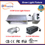 Appareil d'éclairage croissant 315W d'usine de serre chaude avec le ballast électronique de 315W CMH