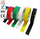 Bande électrique noire normale de qualité d'adhésif d'isolation électrique colorée de PVC