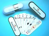 صنع وفقا لطلب الزّبون قابل للغسل 100% بلاستيكيّة يلعب محراك بطاقات, عالة [بلي كرد], [تروت]