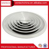Diffusore rotondo del soffitto del condizionatore d'aria del cunicolo di ventilazione dell'aria dei diffusori direzionali di alluminio del soffitto