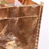 2017熱い販売の環境に優しい方法によってカスタマイズされるロゴ非編まれた袋(KG-PN013)