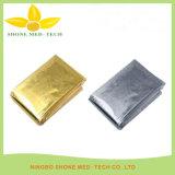 Coperta termica Emergency del di alluminio dell'argento o dell'oro