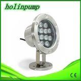 China, CE aprobó la luz de la lámpara LED resistente al agua Piscina IP68 Multi color luces subacuáticas del LED por Fuentes y acuario (HL-PL24)