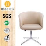 Moderner zeitgenössischer Freizeit-Stuhl mit Aluminiumunterseite (HT-855B-2)