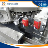 ビール飲料缶の充填機