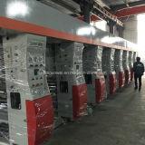 Bewegungsmittlere geschwindigkeits- 8 Farben-Gravüre-Drucken-Maschine des PLC-Steuerdrei