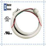 """3/4 """" X4', 8AWG Wechselstrom-elektrische Peitsche-wasserdichte Klimaanlagen-Rohr-Peitsche--Metallisch"""