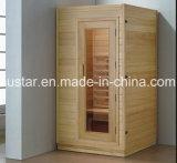 1200mm de Stevige Houten Sauna van de Rechthoek voor 2 Personen (bij-8615)