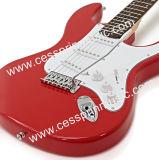Heet verkoop Guitar/van /Electric de Fabrikant van de Leverancier van /Guitar van de Gitaar van Lp/het Rood van de Muziek Cessprin (ST601)