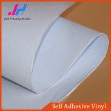 Vinyle auto-adhésif de colle blanche permanente