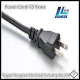 Enchufe caliente del cable eléctrico de la venta