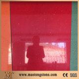 Il quarzo grigio della scintilla di vetro stellare popolare placca il prezzo artificiale