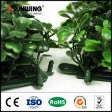 내화성 정원 중국 관목의 인공적인 푸른 잎 벽