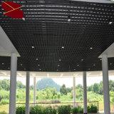 Projeto colorido das telhas da grade do teto dos materiais de construção
