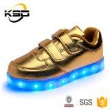 Licht Van uitstekende kwaliteit van de Schoenen van de Dans van de Manier van Kerstmis van de Jonge geitjes van de Schoenen van de Partij van de Gloed van het Ontwerp van het nieuwe Product het Beste