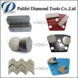 Het Malen van het beton en van de Vloer Segment in de Markt die van India wordt gebruikt