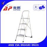 Ladders ap-1204 van de Krukken van de Stap van het metaal Draagbare Vouwende Grote