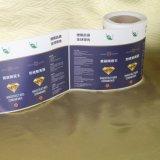 Etiqueta impermeável da etiqueta do vinil da alta qualidade inteira da venda