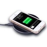 Chargeur normal de Wilress de Qi en métal pour l'iPhone