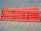 بناء استعمل يدهن أحمر سقالة فولاذ دعامة