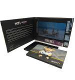 Libretes, tarjeta del regalo, impresión video del folleto para hacer publicidad