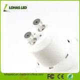 Proyector caliente frío del blanco SMD Dimmable LED del grado 6W GU10 de la UL 30 de RoHS del Ce