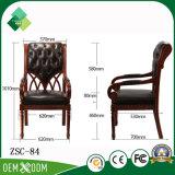 Elegante Art-Buche-König Throne Chair für Standardschlafzimmer (ZSC-84)