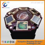 Máquina de jogo luxuosa da roleta do casino do gabinete com tela de toque