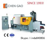 機械23年の歴史168ton亜鉛合金の注入