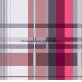 шотландка Pigment&Disperse 100%Polyester Rose напечатала ткань для комплекта постельных принадлежностей