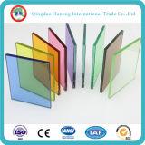 Manufactory claro o coloreado de 6.38-50m m de la seguridad del vidrio laminado