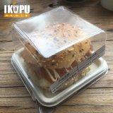 Biodegradierbares Wegwerfzuckerrohr-Bagasse-Nahrungsmitteltellersegment-Kuchen-Tellersegment-Bambus-Tellersegment