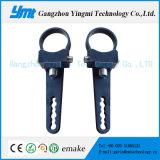 suporte redondo do suporte do dispositivo elétrico claro do diodo emissor de luz 3inch para a luz do trabalho do diodo emissor de luz