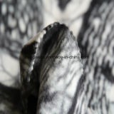2側面が付いている森林印刷の北極の羊毛は1側面のAntipillingにブラシをかけた