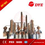 matériel de distillation d'alcool de l'acier inoxydable 200L/distillateur de whiskey