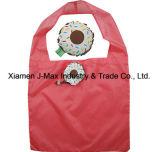 Bolso de compras plegable, estilo de la magdalena del alimento, bolsos reutilizables, ligeros, de totalizador, promoción, regalos, bolsos de tienda de comestibles y práctico, accesorios y decoración