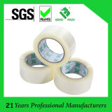 Material de acrílico y micrón claro BOPP Sellotape del pegamento BOPP del pegamento 40