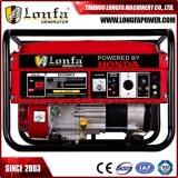 abgekühltes Benzin des einphasig-6kVA/6kw/6000W Luft/Treibstoff-Generator