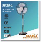 """Oszillierender abkühlender Untersatz-Ventilator der gute Qualitäts16 """" mit Fernsteuerungs"""