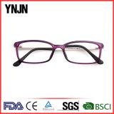 Ynjnの黒い正方形Tr90は卸し売りする接眼レンズフレーム(YJ-11784)を