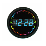 Circle LED Digital Business Gift Decor Time Clock